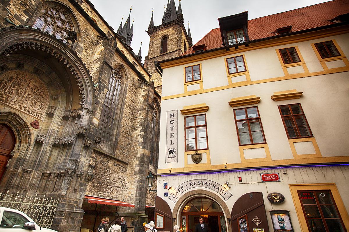 hotel černý slon firemní foto fotograf Hradec Králové